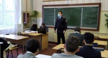 Беседа  со студентами техникума на правовую тему: «Закон и я», «Как не стать жертвой преступления».