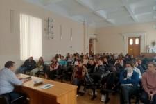 Беседа со студентами о нормах законодательства РФ