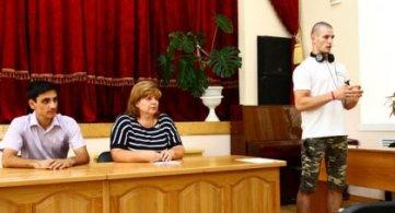 Встреча первокурсников с представителем воркаут- движения