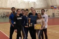 Спортивно-развлекательная программа, посвященная празднованию Дня студента