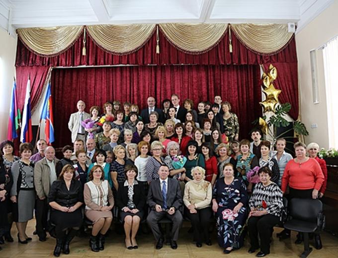 Празднование 90-летия техникума