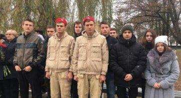 Участие в митинге в память павших в Михизеевой Поляне.