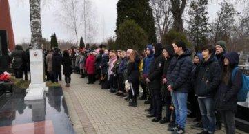 14 февраля на Армавирском городском кладбище состоялась церемония захоронения останков погибших Советских воинов, не преданных земле по – христиански